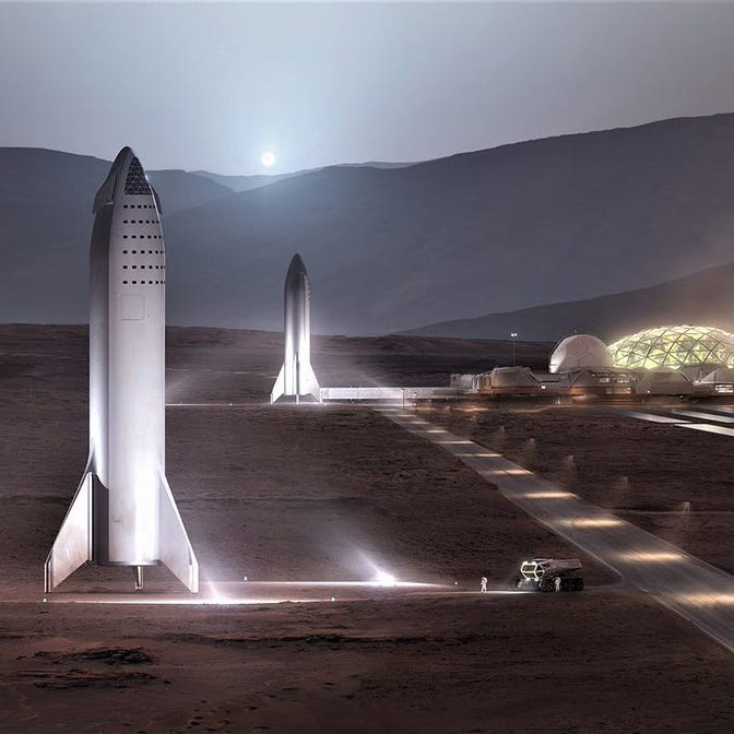 Elon Musk reveals details on SpaceX's BFR, trips to the moon, Mars base and more