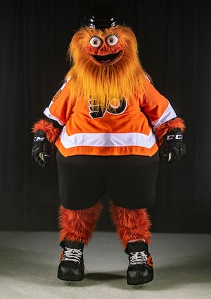 Monday the Flyers unveiled their new mascot, Gritty.