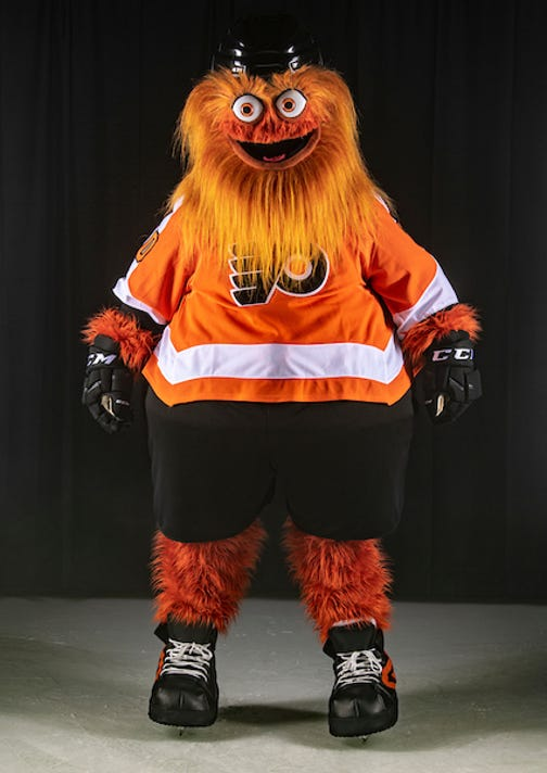 Flyers  Gritty gets a Philadelphia-style welcome filled with insults f1dd253ec