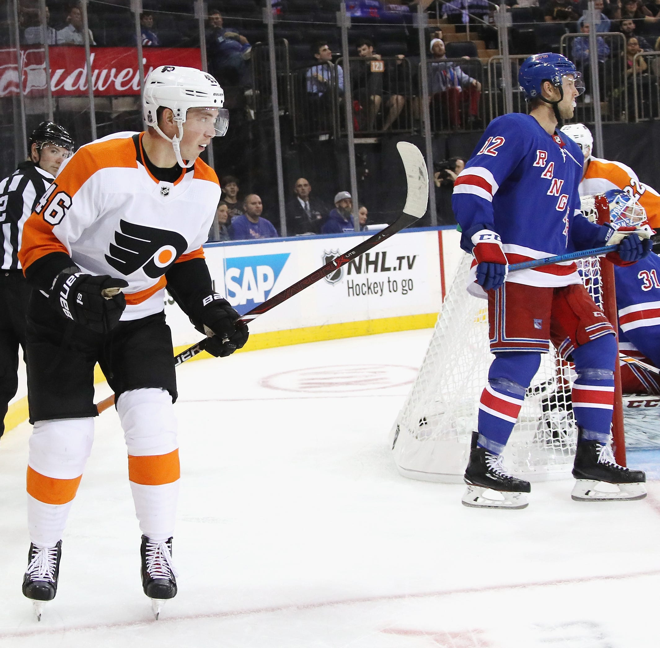 Flyers' roster race heating up for Jordan Weal, Mikhail Vorobyev