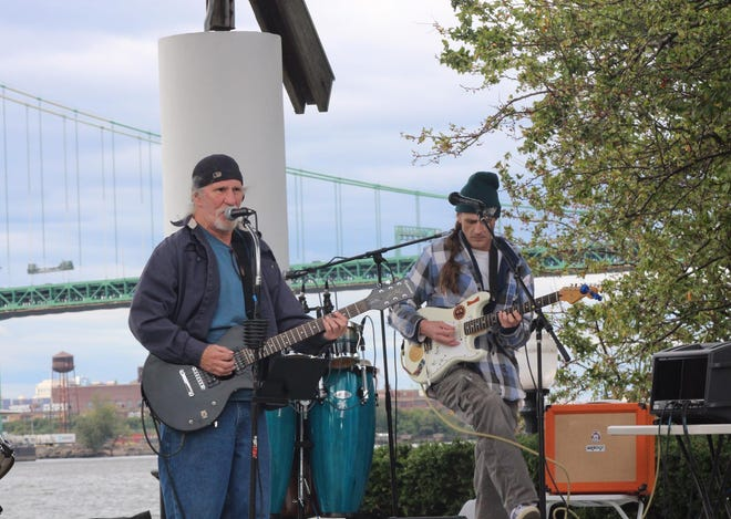 No Evil, a local band fronted by Michael Newsham, performs at the 2017 Roverfront Art and Music Festival. The 10th Annual festival goes on Sept. 29, 2018.