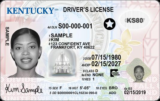 Kentucky New Travel Id Image 1