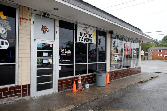 The Rustic Tavern at Gailbraith and Daly roads in College Hill was where two men were fatally shot early Sunday morning.