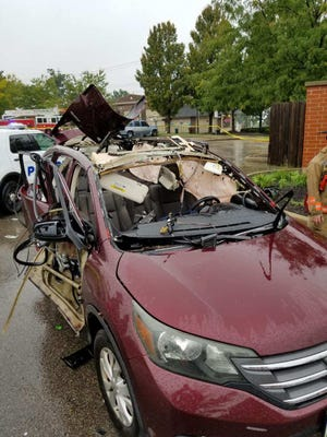 A propane tank being transported in this vehicle led to an explosion in Evanston.