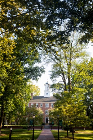 More than 18,000 undergraduate students are enrolled at Ohio University in Athens, Ohio.