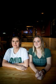 Ohio University seniors Erin Halpin and Mary Ryznar created a GroupMe called Safe Walk Home after several reports of sexual assaults at Ohio University.