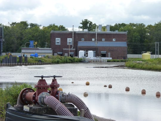 New Jersey American Water's Raritan-Millstone Water Treatment plant in Bridgewater.