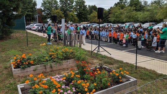 TEECS Garden Inauguartion