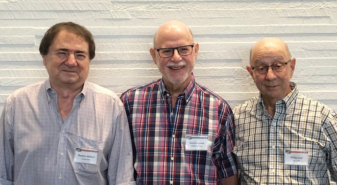 "Tom Melore, David Kaplan and Phil Lear submitted fictional short stories that will be published in an annual anthology in the Princeton weekly, ""U.S. 1."""