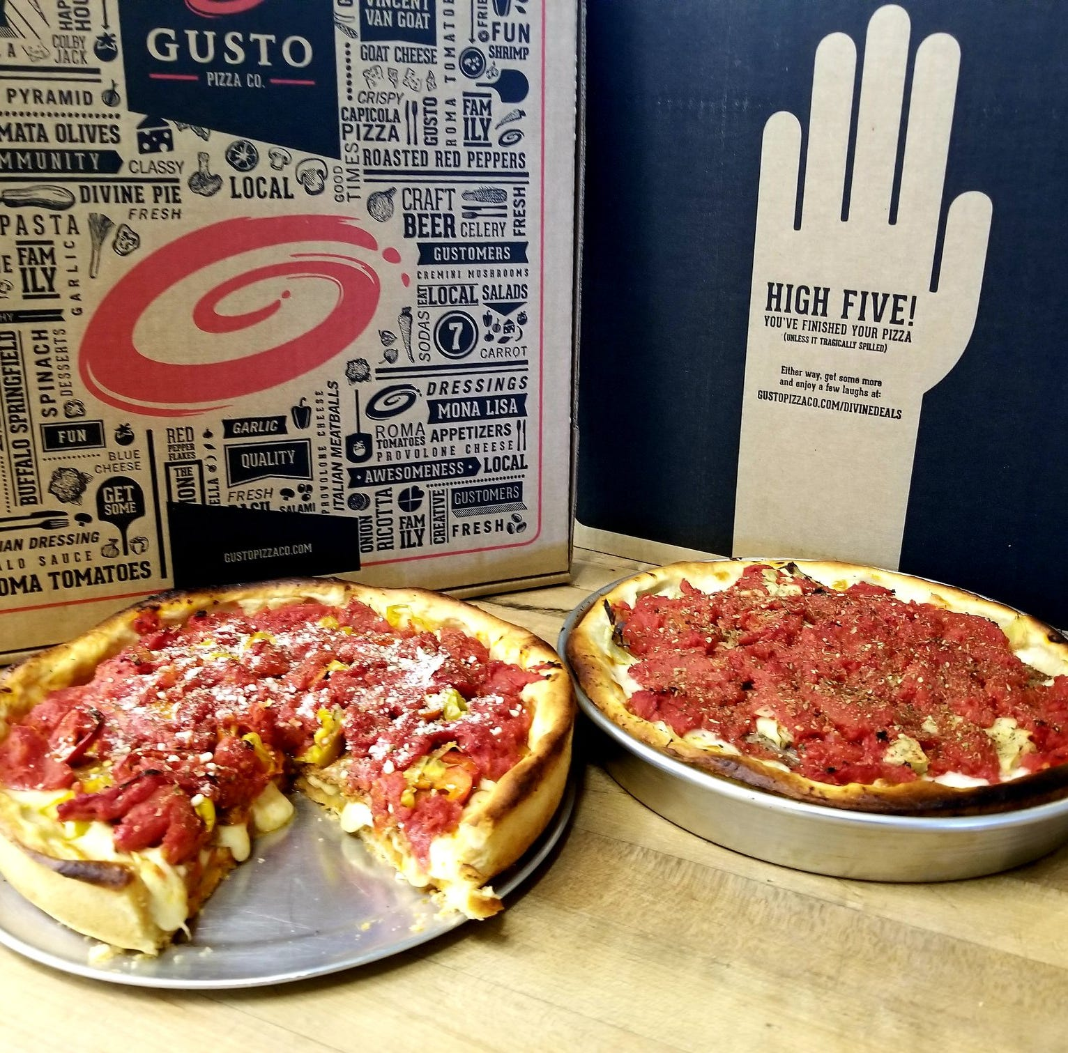 This popular pizzeria in the metro has unleashed a new Chicago-style deep dish pizza menu