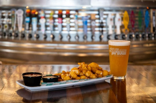 PseudoSue and Fried Cheese Curds at The Iowa Taproom.