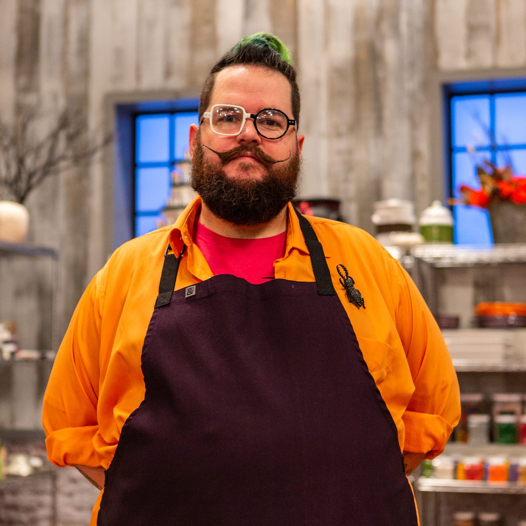 This Des Moines baker is competing tonight on spooky Halloween competition on Food Network