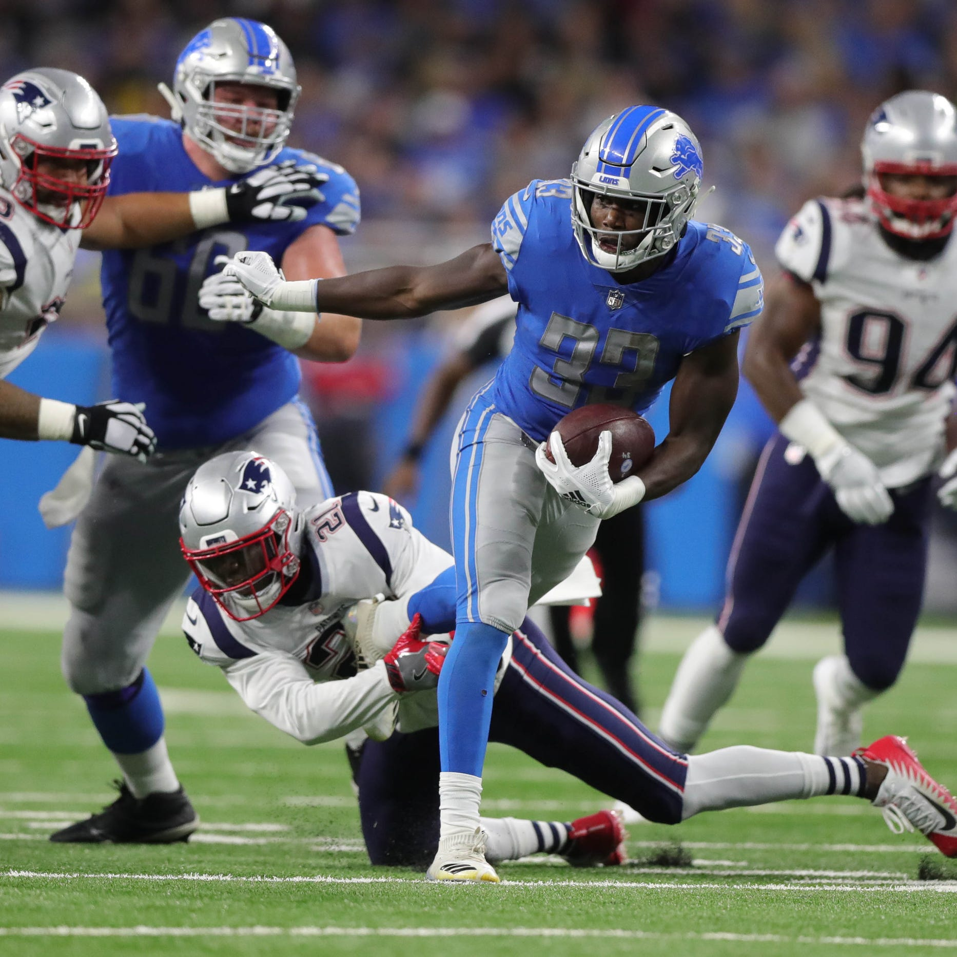 Detroit Lions figured out running game Sunday. But will it continue?