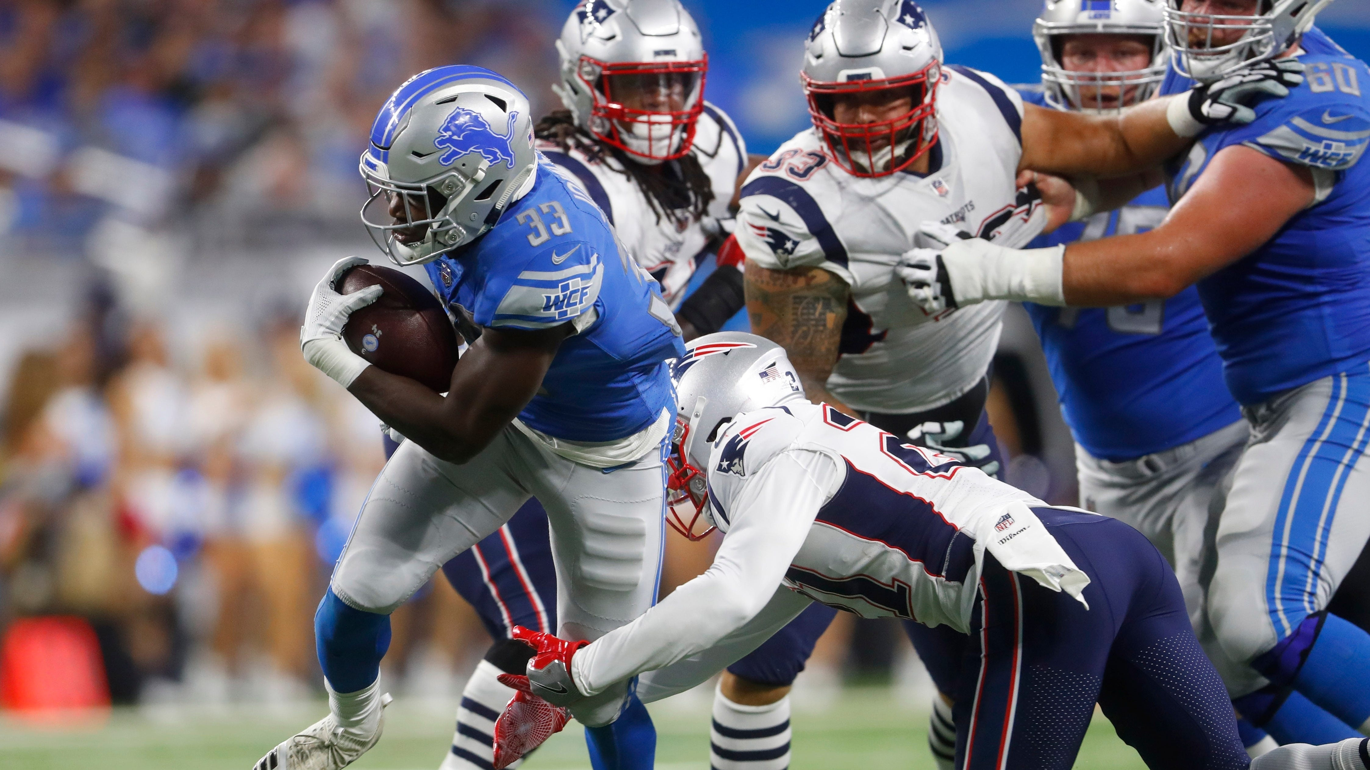 Detroit Lions prove they aren't dead in win over New England Patriots