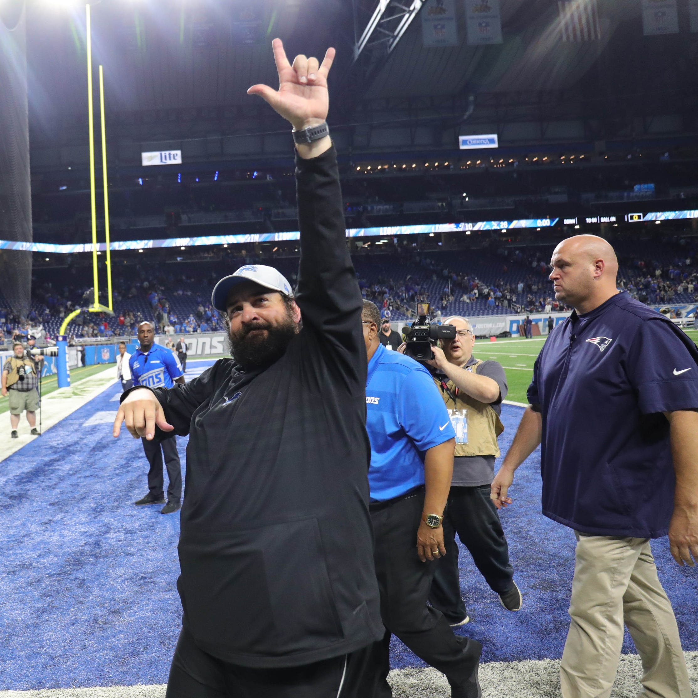 Detroit Lions' Matt Patricia took the heat, now he deserves the credit