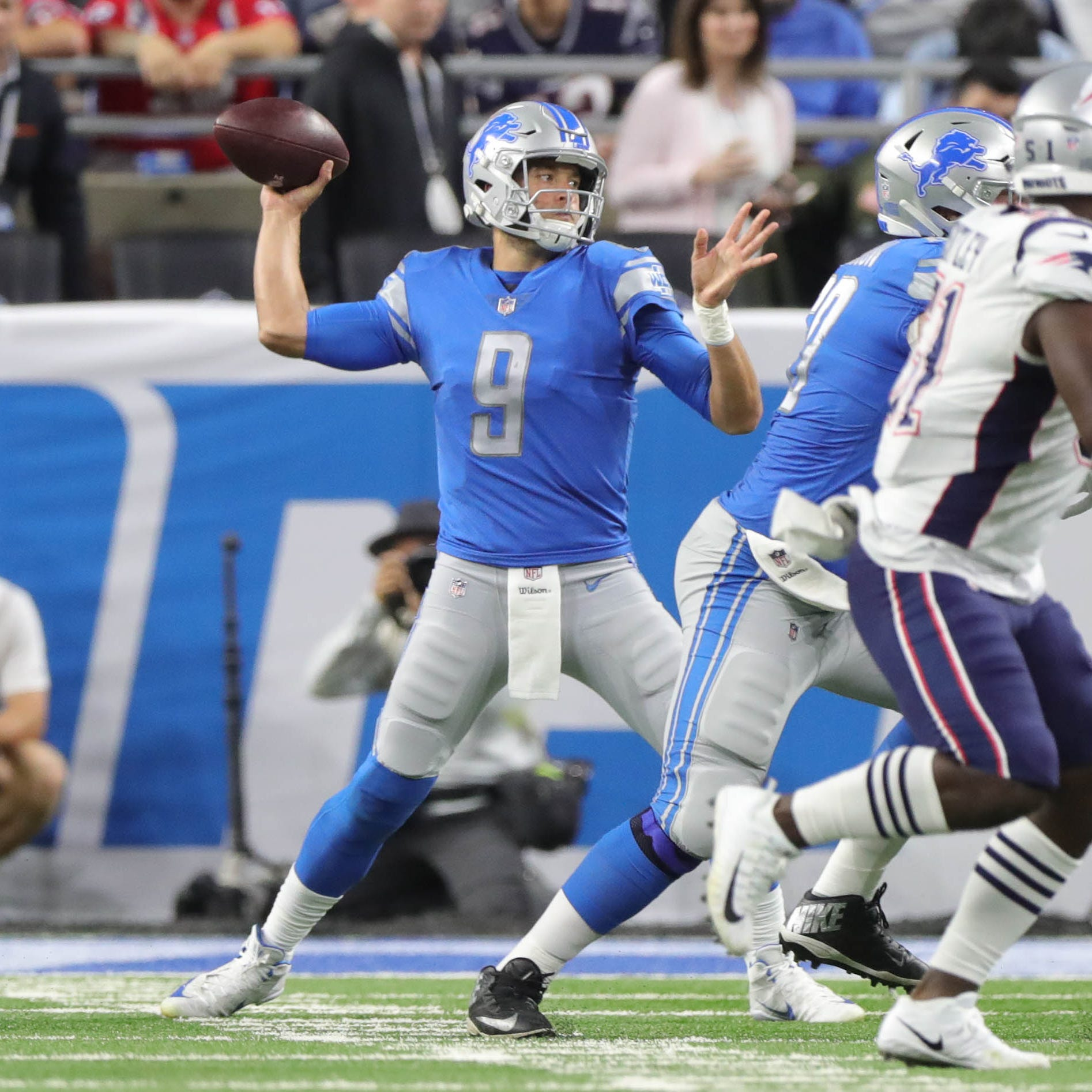 Detroit Lions film review: Red-zone woes vs. Patriots are fixable