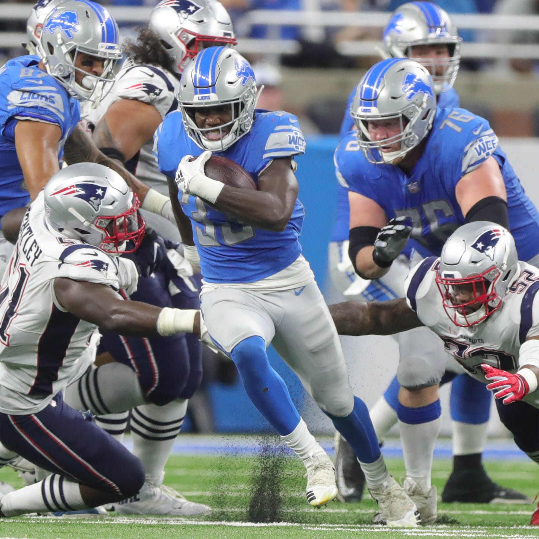 How Detroit Lions' Kerryon Johnson ended five years of rushing futility