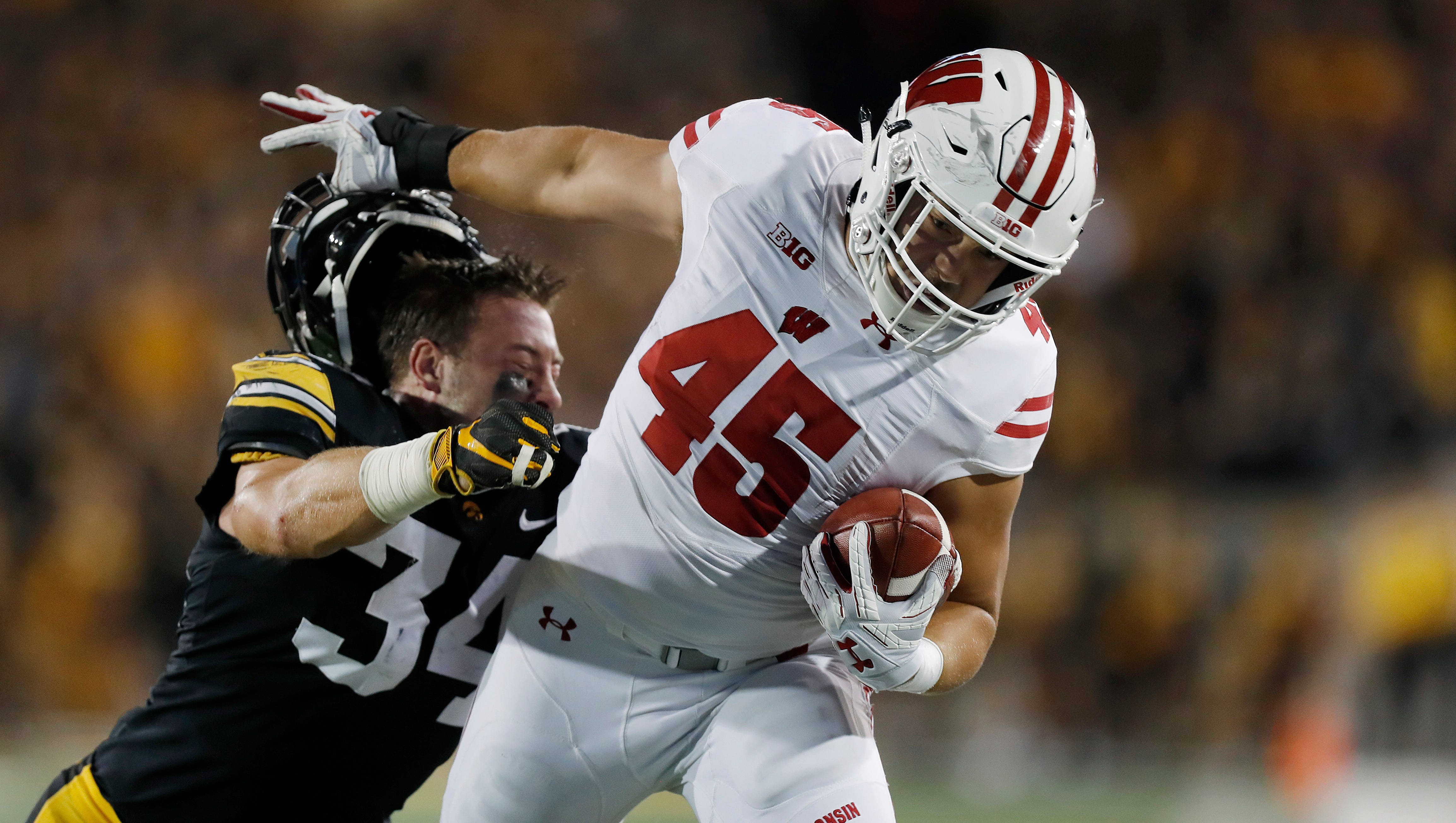 4. Wisconsin (3-1) | Last game: Defeated Iowa, 28-17 | Previous ranking: 5