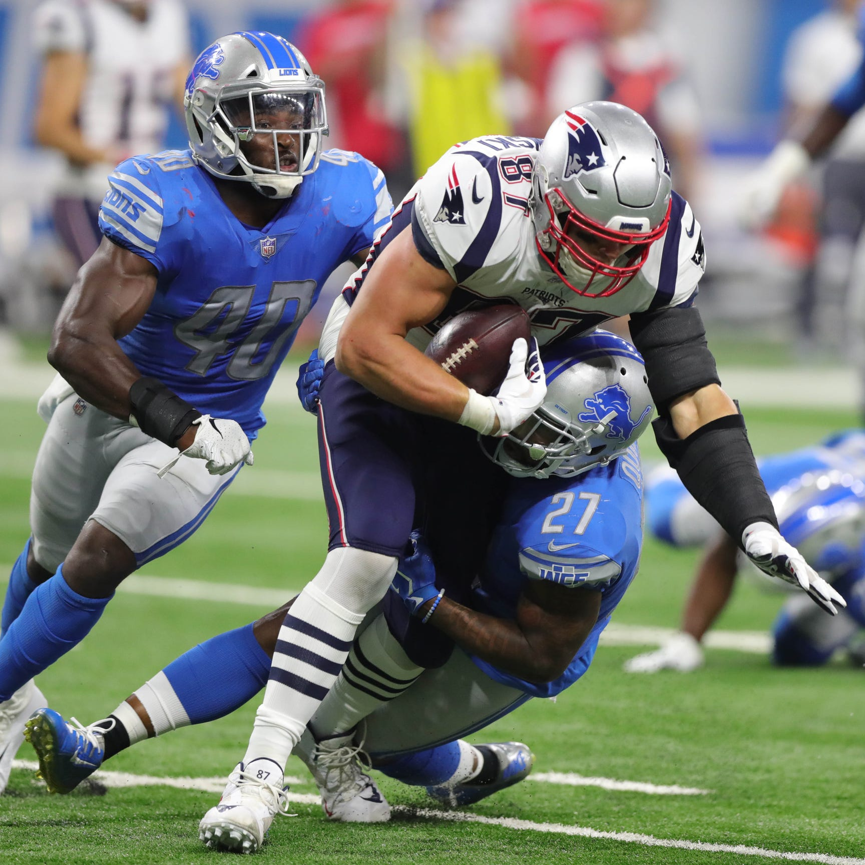 Patriots' Rob Gronkowski confirms threat to retire if traded to Lions