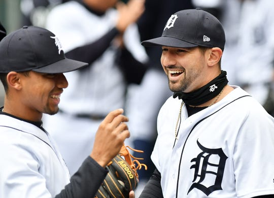 Nick Castellanos is putting the finishing touches on a career season.