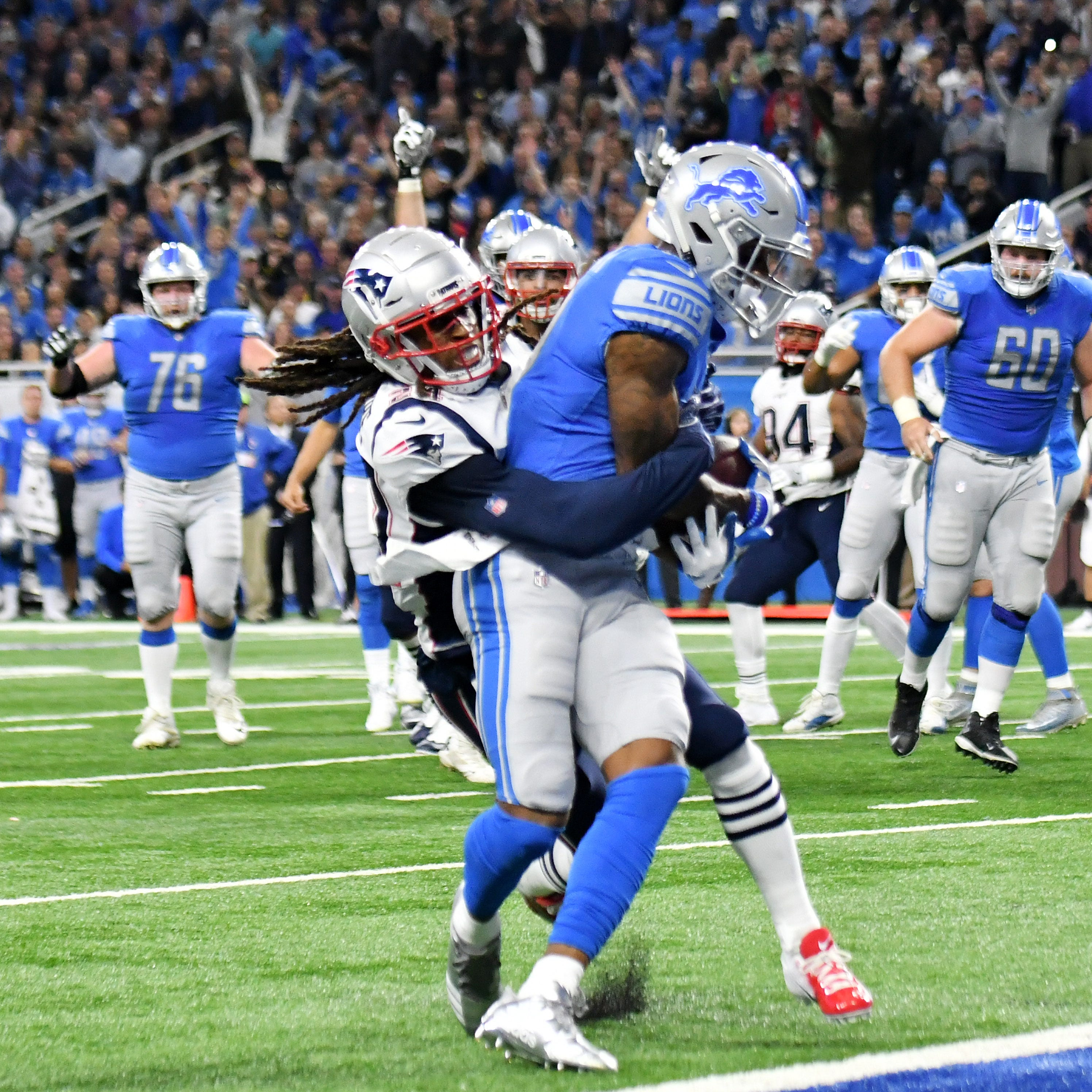 'Something to cheer about'; Lions thump Patriots to give Patricia first win