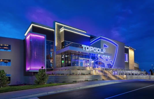 Topgolf In Centennial Colorado