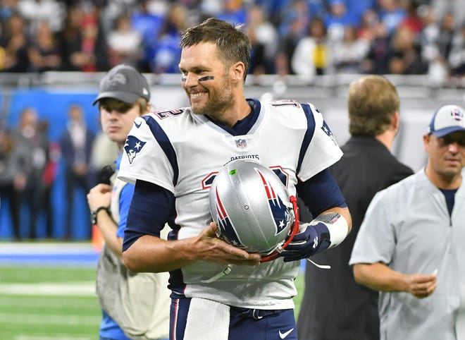 New England quarterback Tom Brady is shooting for a sixth Super Bowl championship.