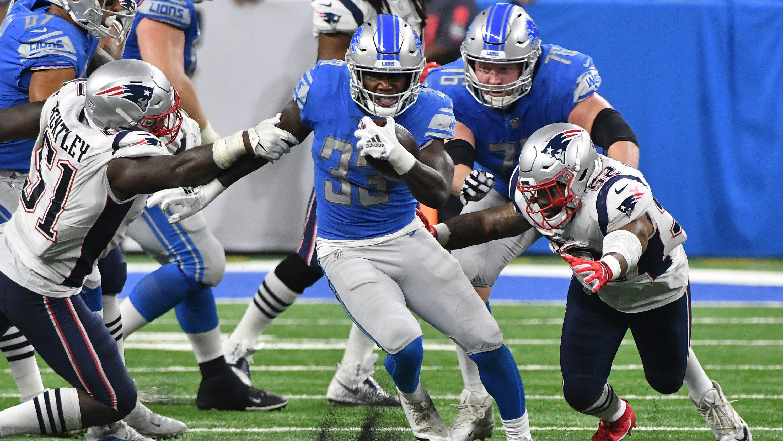 Niyo  Kerryon Johnson throws Detroit Lions the party of the century 64568c5e8
