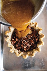 "Brandy Pecan Pie from ""Sister Pie"" cookbook from Detroit baker Lisa Ludwinski."
