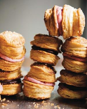 "Pie Sandwich Cookies from ""Sister Pie"" cookbook by Detroit bake Lisa Ludwinski."