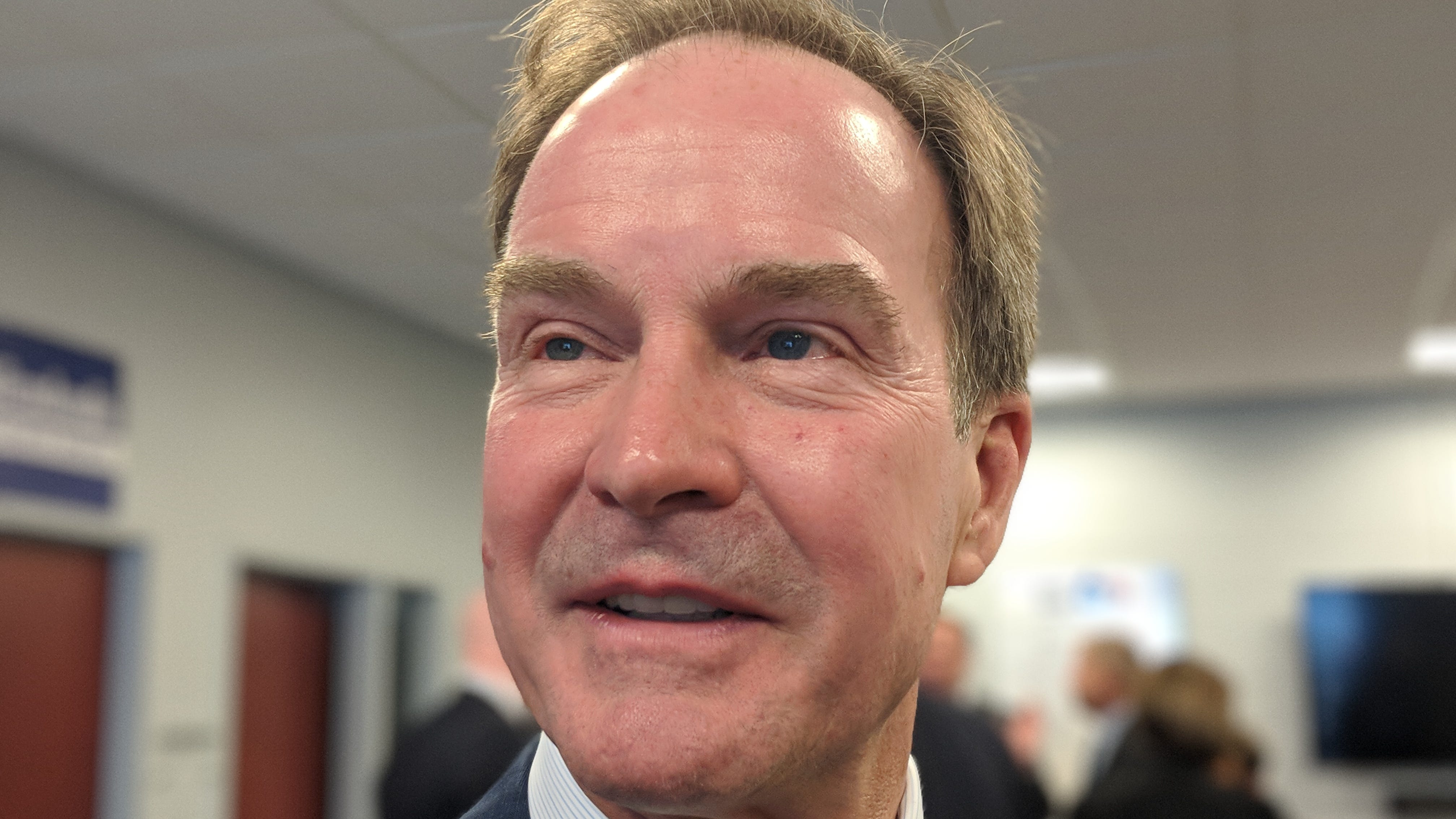 Republican Bill Schuette said  comments from a prominent victim show Democrat Gretchen Whitmer is lying about the prosecution of Larry Nassar cases