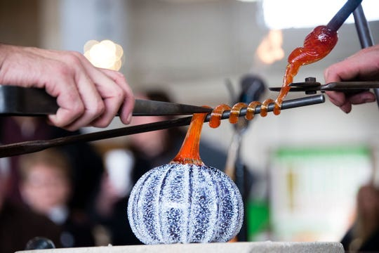Dearborn's Glass Academy will offer glassblowing demonstrations  in October.