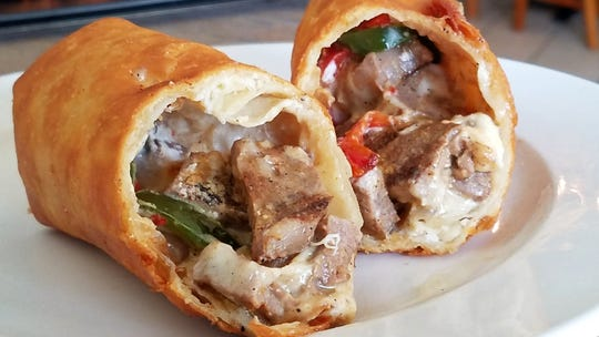 Have your Philly Steak and your chimichanga too at MaryScott's Kitchen during Sunday afternoon football.
