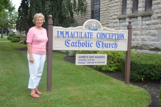 """Retired Immaculate Conception parish nurse Judy Geiger is helping organize the third annual """"Boots and Buckles"""" pig roast and square dance that will raise funds for the ICSJ Respect Life Ministry trip to the March for Life rally in January."""