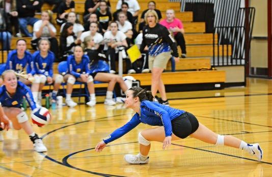 Volleyball Hallie Wusterbarth