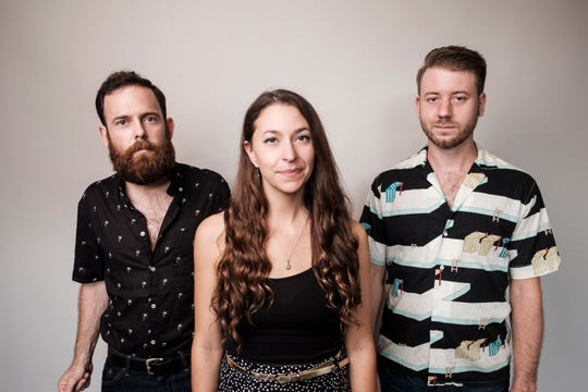 Soulful roots singer-songwriter Lindsay Lou, center, opens for Billy Strings in a Sept. 30 concert at Door Community Auditorium.