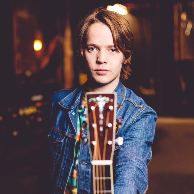 Hard-rocking bluegrass guitarist Billy Strings is in concert Sept. 30 at Door Community Auditorium.