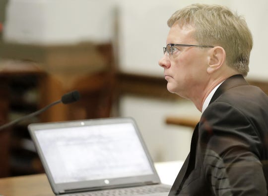 Deputy District Attorney Dana Johnson looks on during bond hearings Sept. 17 at the Brown County Courthouse in Green Bay.
