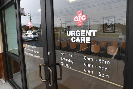 American Family Care urgent care center in Duncan Monday, September 24 2018.