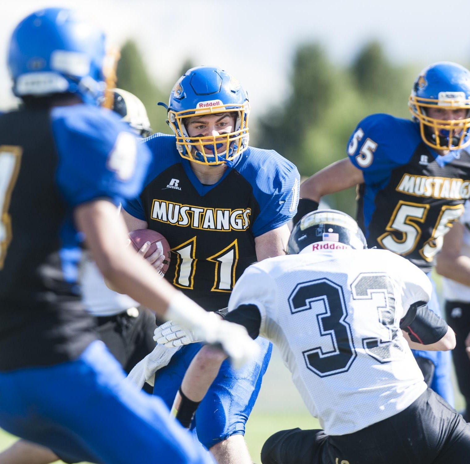 Mustangs' playoff game first at Stadium since early '70s