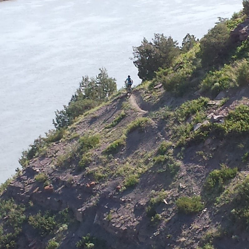 """""""No Tap"""" bike trail now open on River's Edge Trail"""