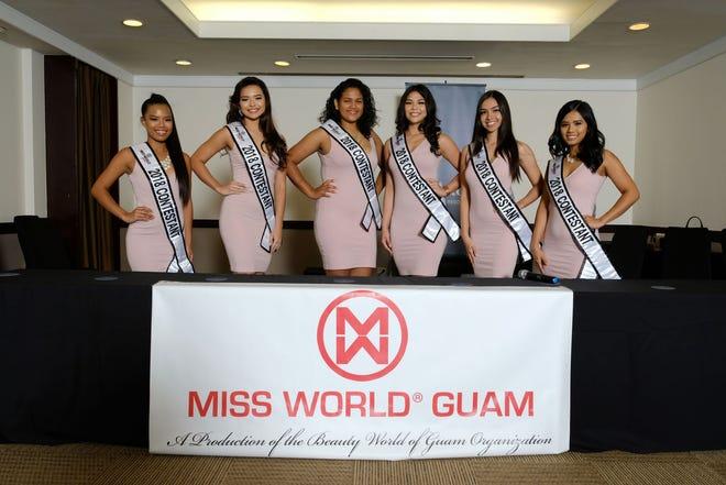 2018 Miss World Guam contestants