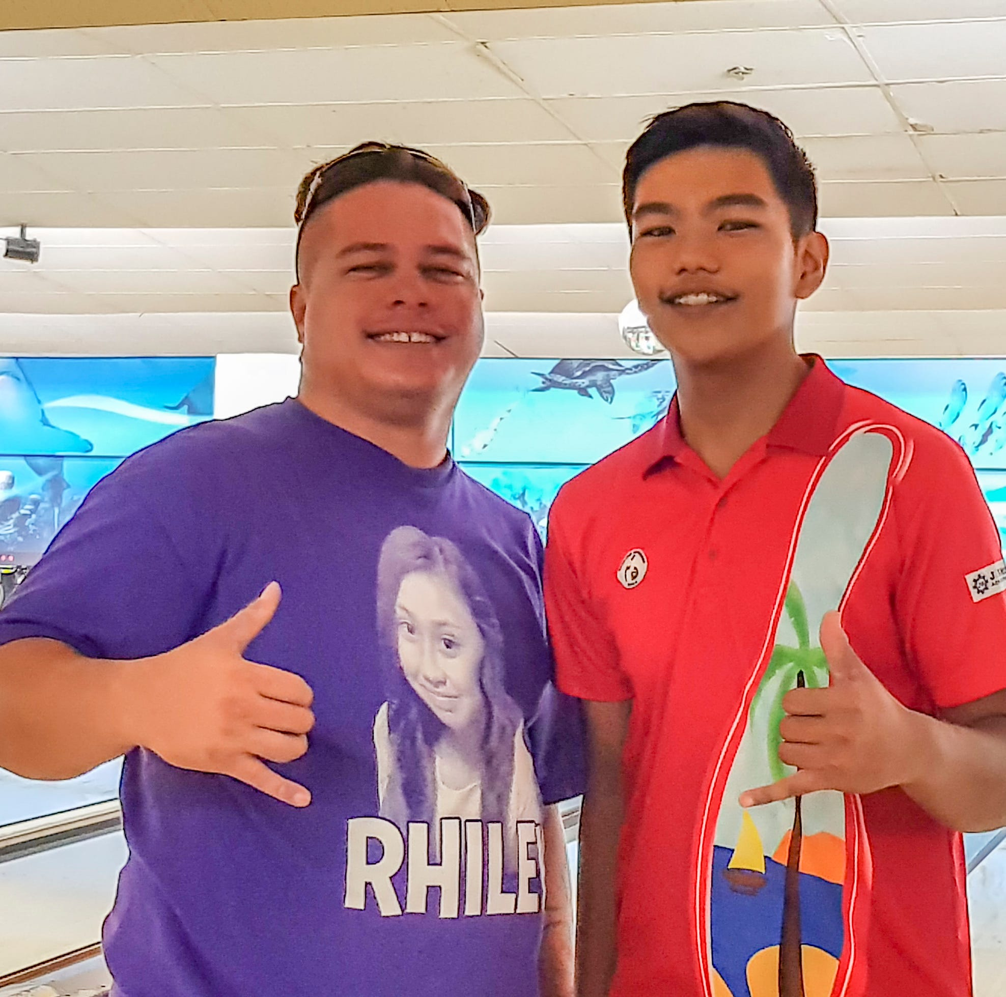 Jeremiah Camacho, Jesse Flickinger takes King, Prince titles in bowling competition