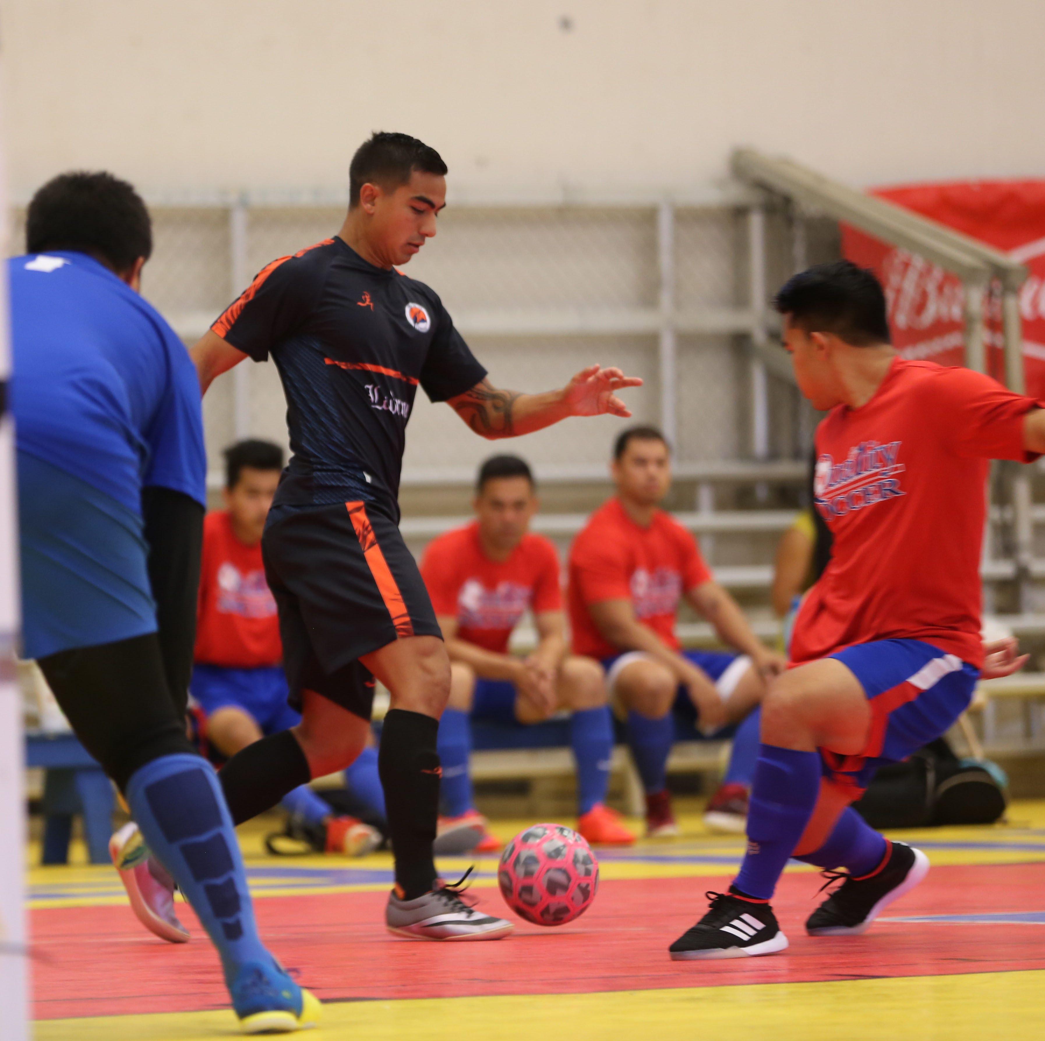 Tumon/IDL claim futsal league championship