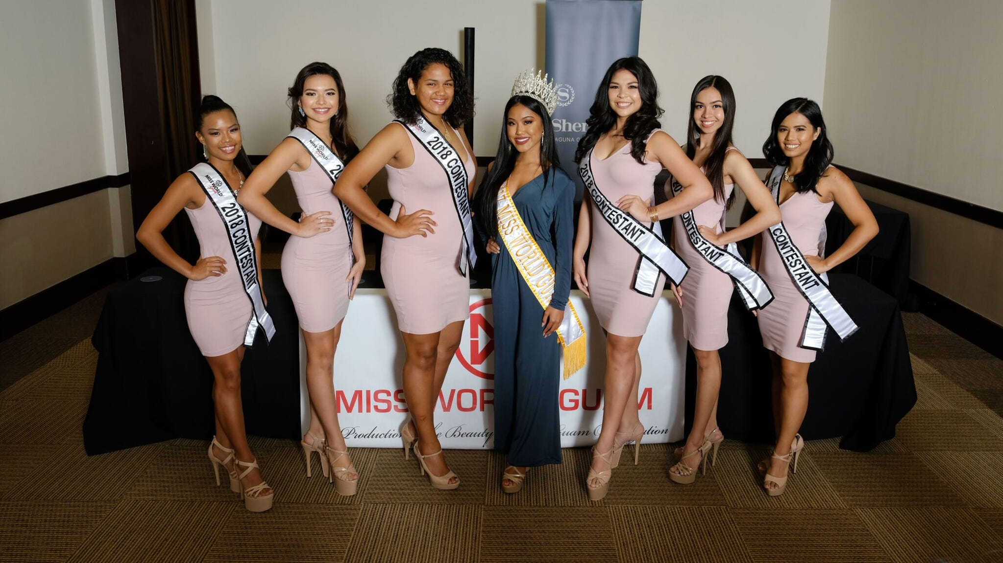 Six Miss World Guam contestants to compete for crown, raise funds for charities