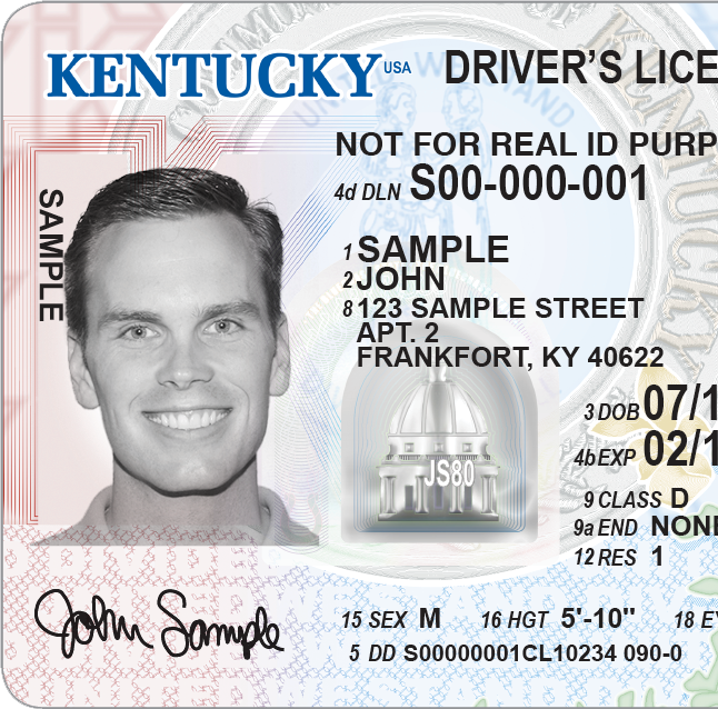 Kentucky unveils new drivers license designs