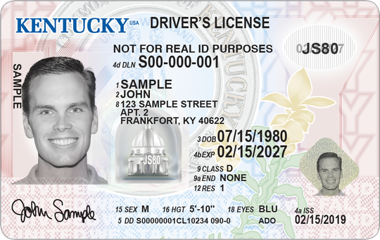New standard drivers license