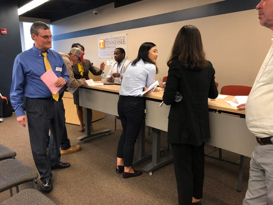 The University of Tennessee, Knoxville, kicked off its annual Diversity and Inclusion week with a series of panels. Monday afternoon's panel focused on social media and activism.