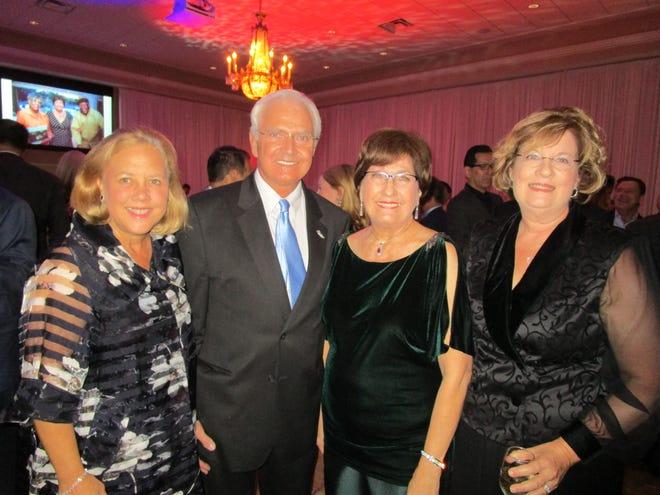Mary Landrieu, Erroll Babineaux, Kathleen Blanco and Suzanne Babineaux