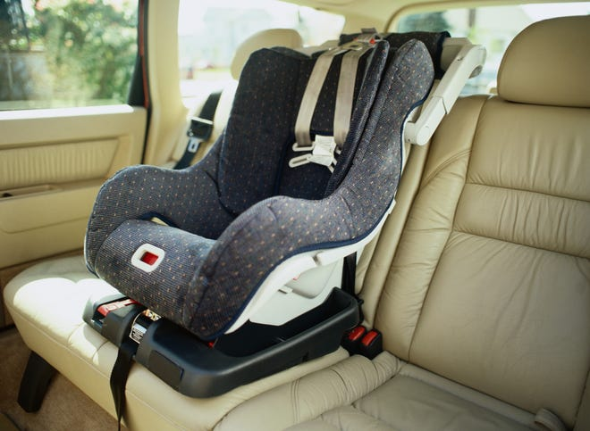 Free inspections of child-safety seats will be available this Saturday from 9:30-11:30 a.m. in the parking lot across from the Phyllis Hiraki Dental Center, 110 Lee St.